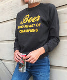 Beer Breakfast of Champions Sweatshirt