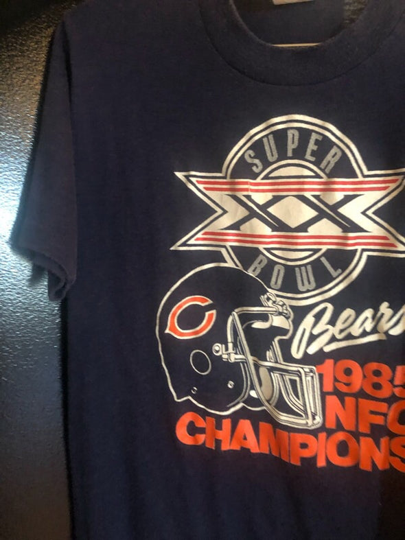 Vintage 1985 Chicago Bears Super Bowl Tee