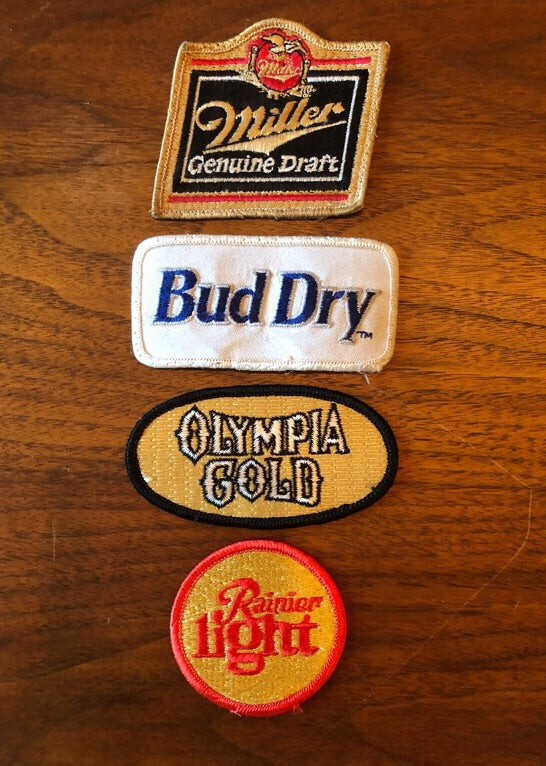 Vintage Beer Patches