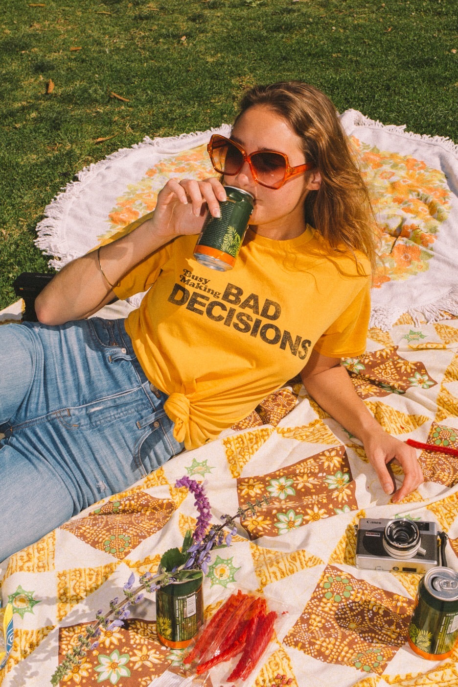 Busy Making Bad Decisions Tee – Electric West
