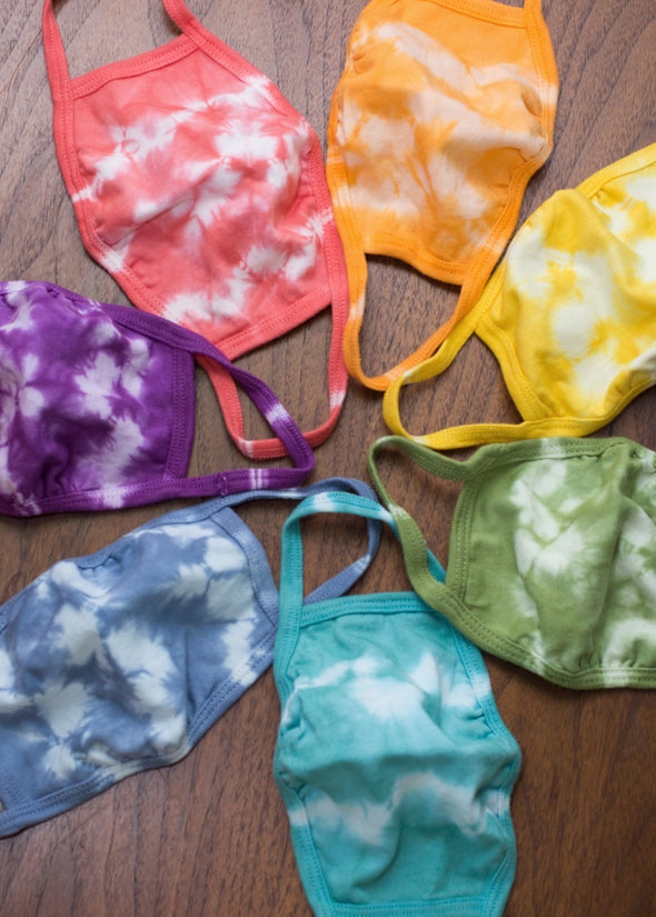MYSTERY 3 Pack- Tie Dyed Cotton Mask