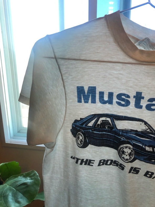 Vintage 90s Mustang Graphic Tee