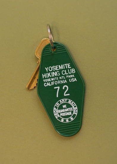 Yosemite Hiking Club Keychain