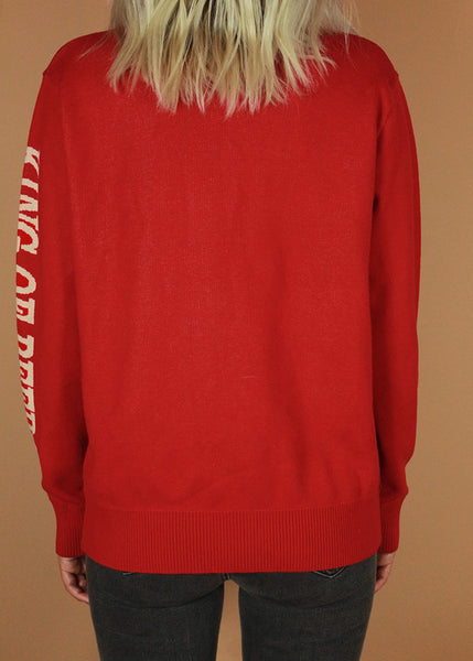 Vintage Budweiser Knit Sweater