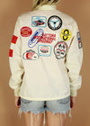 Vintage Daytona Beach Patched Racing Jacket