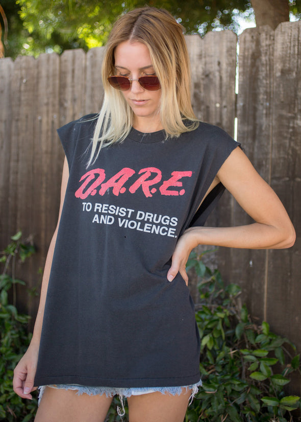 Vintage 90's DARE Muscle Tank