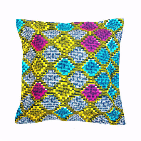 """Color Squares"" Decor Pillow"