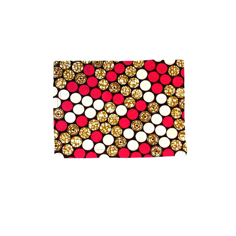 """Pink and Gold"" Placemat"