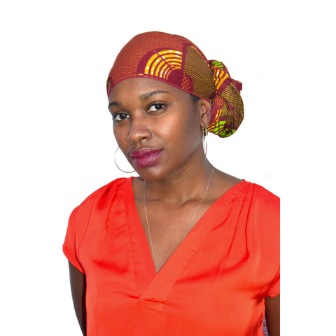 """Autumn Flow"" Head Wrap"