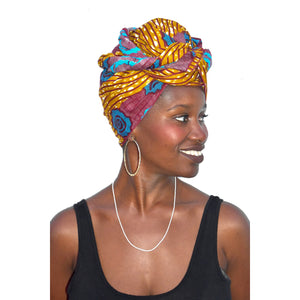 "Head Wrap ""Labadi Beach"""