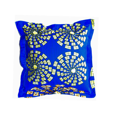 """Ocean Blue"" Decor Pillow"