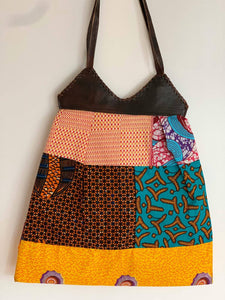 "Patchwork Bag ""Kumasi"""