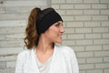 Polartec Fleece-Lined Headband - Black