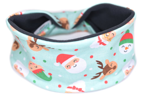 Polartec Fleece-Lined Headband - Santa's Christmas Family
