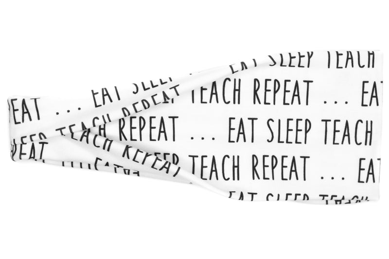 Modern Jersey Tri-Fold - Eat Sleep Teach Repeat