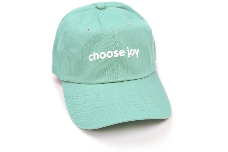 Fitness Fox Hat - Choose Joy - Turquoise