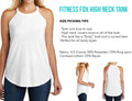 Mom Boss - White - High Neck Tank