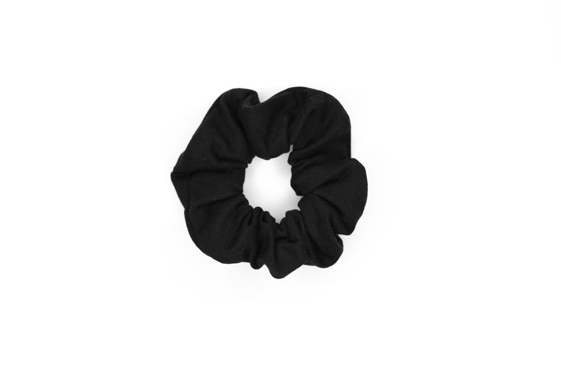 Scrunchie Hair Tie - Black