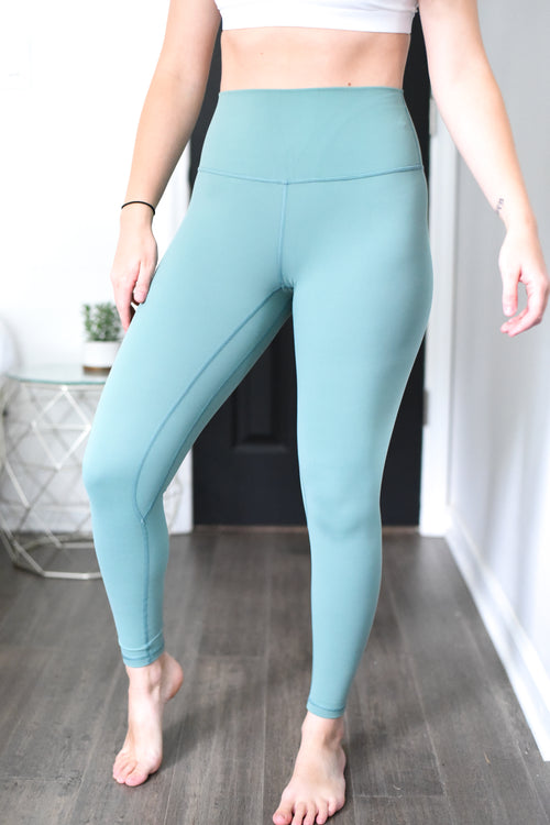 Limitless High Rise Weightless Leggings - 7/8 Ankle - Fern