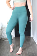 Limitless High Rise Weightless Leggings - Mineral