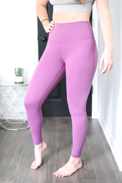 Limitless High Rise Weightless Leggings - 7/8 Ankle - Orchid
