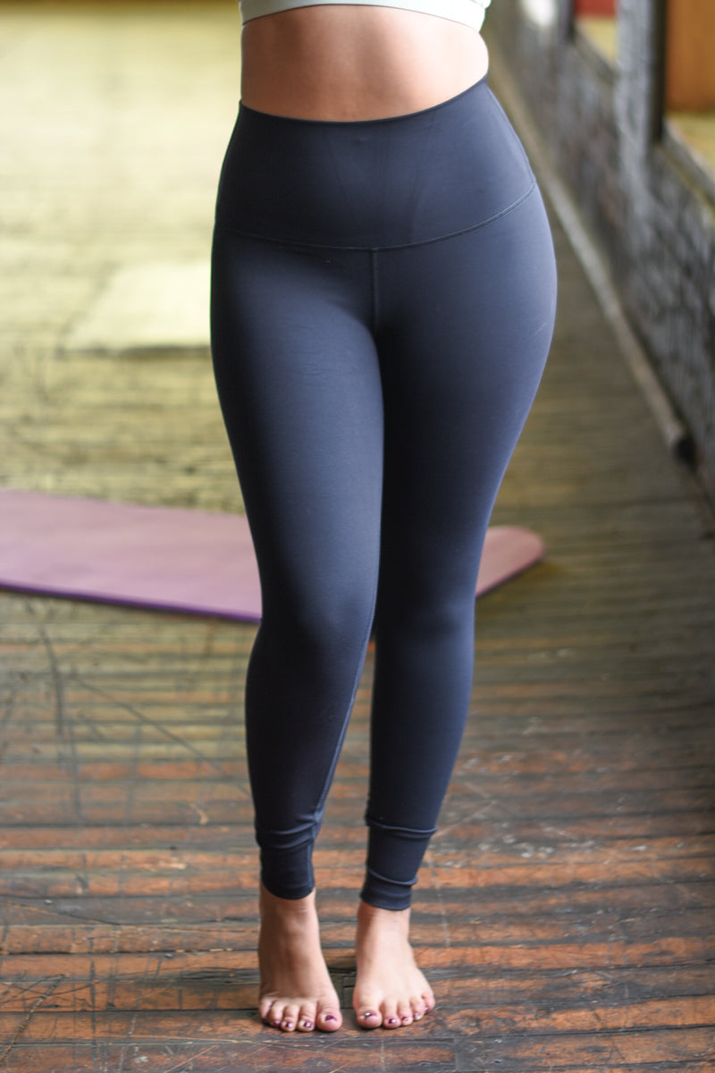 Super High Rise Limitless Weightless Leggings - 7/8 Ankle - Black
