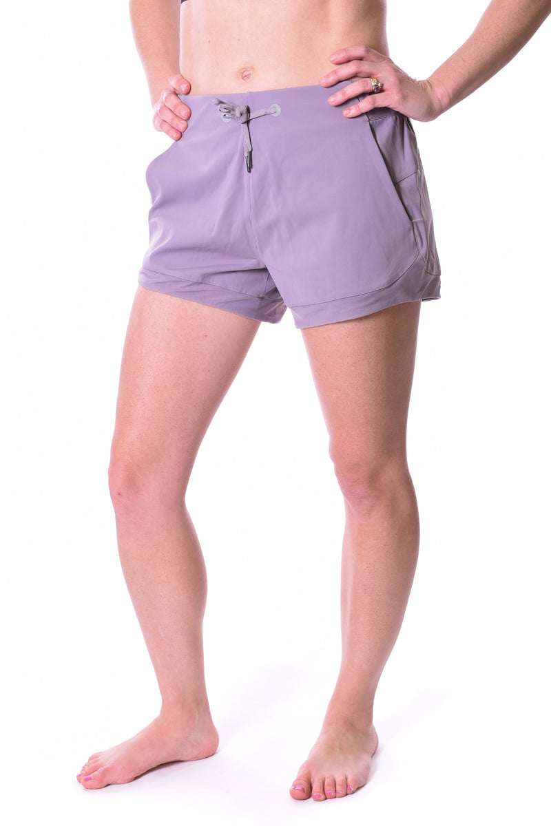 Libra Max Flow Mesh Detail Short - Light Mauve