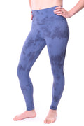 Tie Dye Limitless High Rise Weightless Leggings - 7/8 Ankle - Blue