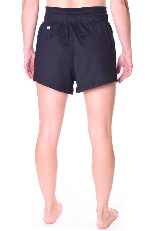 Taurus High Rise Short - Black