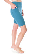Eclipse 8 Inch Pocket Biker Short - Teal
