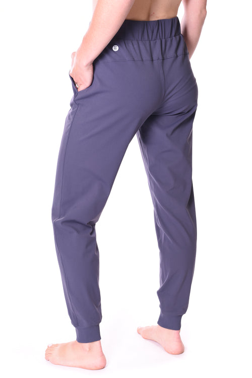Aquarius Everyday Stretch Jogger - Dark Powder Blue