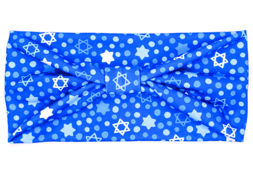 Wide Bow - Hanukkah Star of David