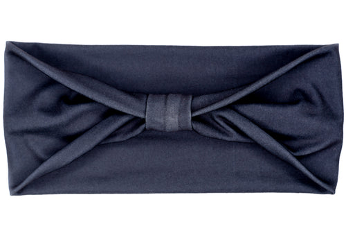 Wide Bow - Solid Black