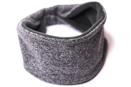 Polartec Fleece-Lined Headband - Steel