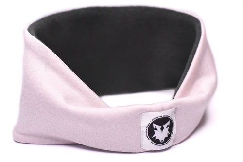 Polartec Fleece-Lined Headband - Blush