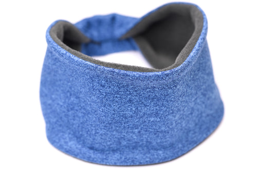 Polartec Fleece-Lined Headband - Cobalt