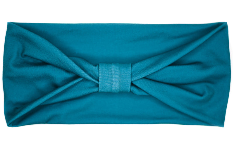 Wide Bow - Solid Dark Teal