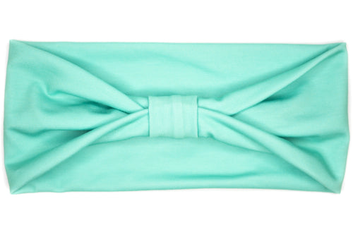 Wide Bow - Solid Mint