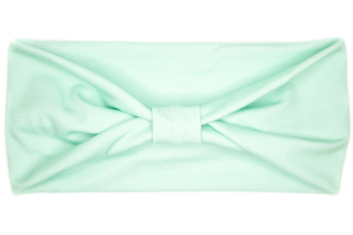 Wide Bow - Solid Seafoam