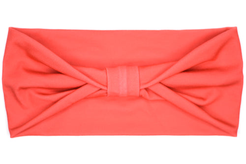Wide Bow - Solid Red