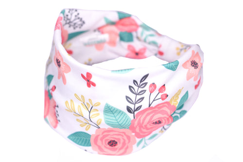 Wide Bow Headband - Say You Love Me White
