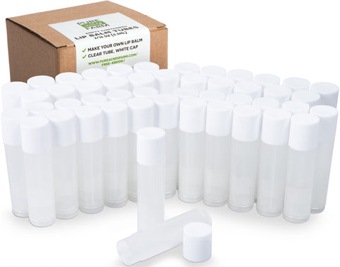 Lip Balm Tubes (Pack of 50)