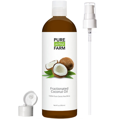 Fractionated Coconut Oil - 8oz