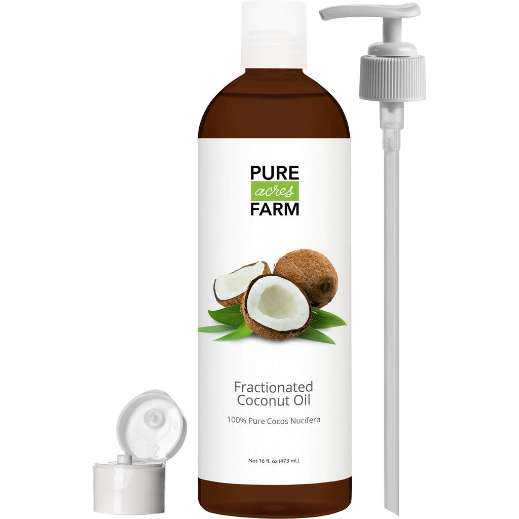 Fractionated Coconut Oil (Liquid) - Carrier oil for mixing with Essential  Oils - Moisturizing Massage Oil for Hair, Skin and Body - Add to Homemade