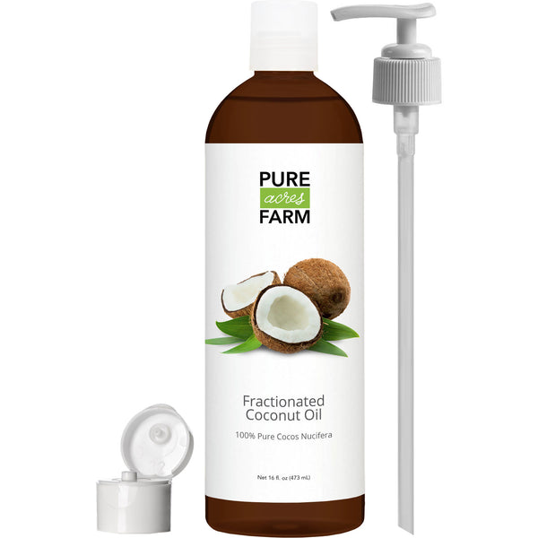 Fractionated Coconut Oil (16oz)