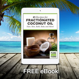 Fractionated Coconut Oil (Liquid) - Carrier oil for mixing with Essential Oils - Moisturizing Massage Oil for Hair, Skin and Body - Add to Homemade Lotion and Cream (8oz)