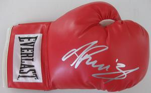 Andy Ruiz X Black Label Paper Company Autographed Boxing Glove *GIVE-AWAY*
