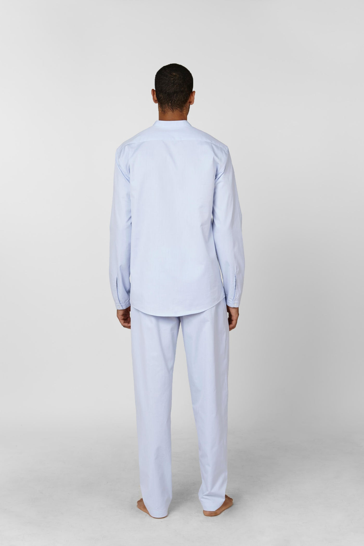 Product Shot of the The Pyjama Set in Light Blue