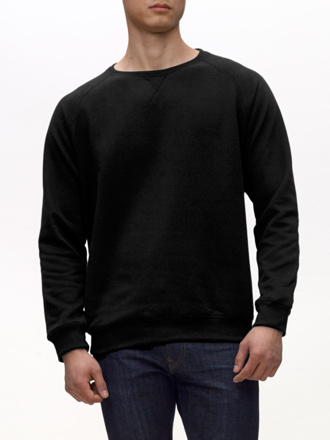 Product Shot of the The Sweatshirt in Black