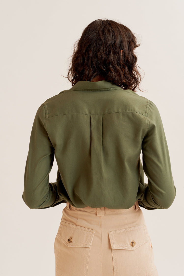 Essential Shirt Army Green